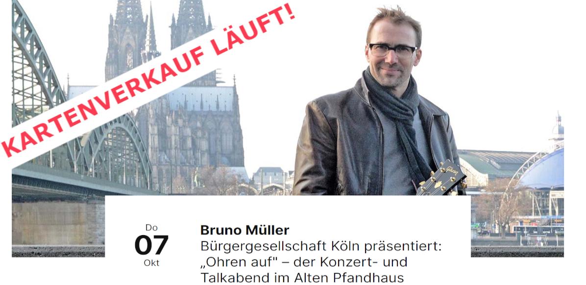 Bruno Müller und ich im alten Pfandhaus!